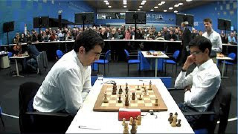 Anish Giri Beats Vladimir Kramnik TATA Steel Chess 2018 Round 2