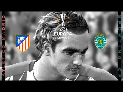 Atletico Madrid vs Sporting CP | Griezmann's Goal | UEFA Europa league | PES 2017 HD
