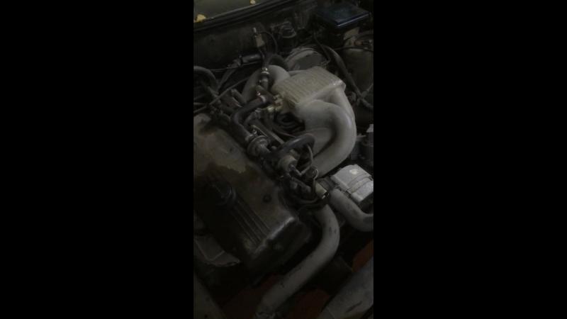 Работа двигателя BMW m10b18 l jet