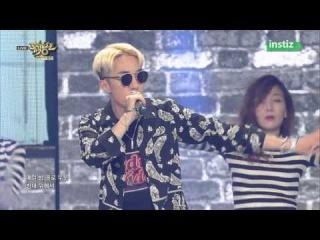 [Live HD 720p] 150626 Zion.T(자이언티) & Crush(크러쉬) - Just(그냥) @ Music Bank Half Year Special