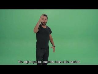 Shia labeouf just do it! subtitulado al espanol