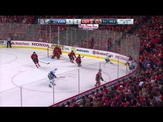 2015 - Game #4 PDSF: Vancouver Canucks Vs Calgary Flames. April 21st 2015. (HD)