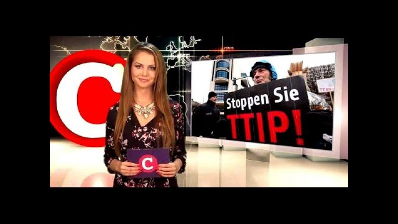 COMPACT TV TTIP Merkels Maulkorb Erlass Redeverbot zum Freihandel mit USA TTIP