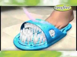 Тапки для мытья ног Easy Feet (Изи Фит). Спа система.