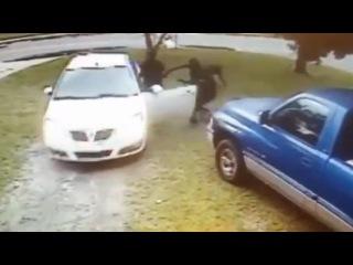 Угон автомобиля у 72 летнего жителя Флориды. США