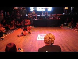 Ladies of Hip Hop 2014 - Top 8 - Mystique(MTL) vs Nadin(Russia)