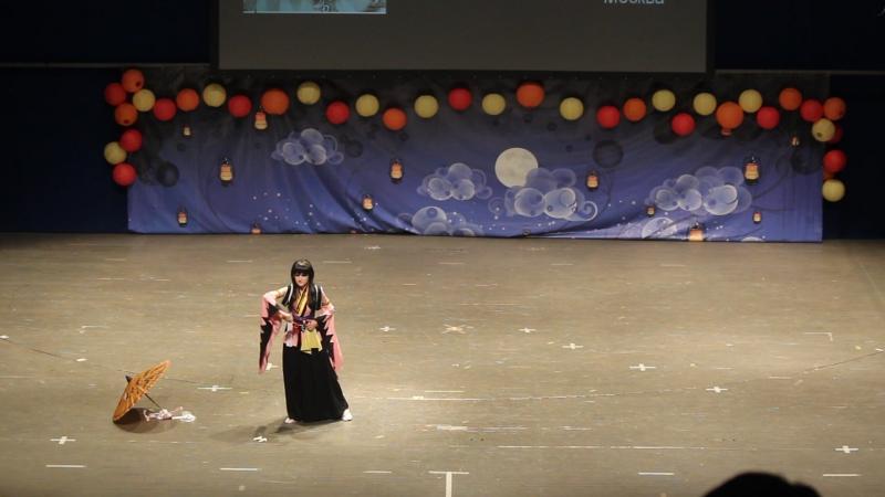 Hakuōki ~Shinsengumi Kitan~ Yukimura Chizuru AstralCo Likanda Москва Oni No Yoru 2015