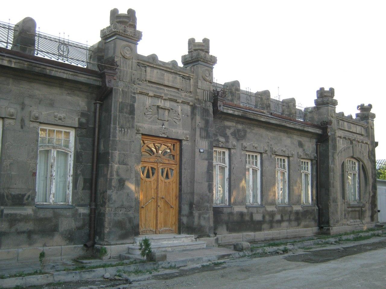 старинны дом в Гюмри