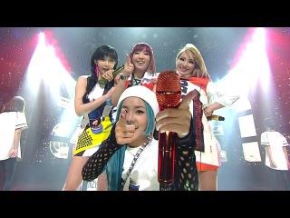  Выступление  2NE1 - GOTTA BE YOU @SBS Inkigayo.