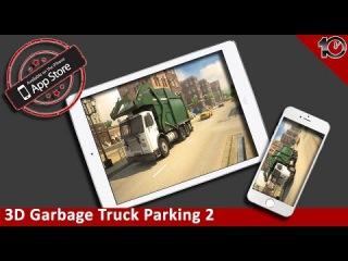 3D Garbage Truck Parking 2 - Crazy Trash Driving School Simulator Park & Racing Games