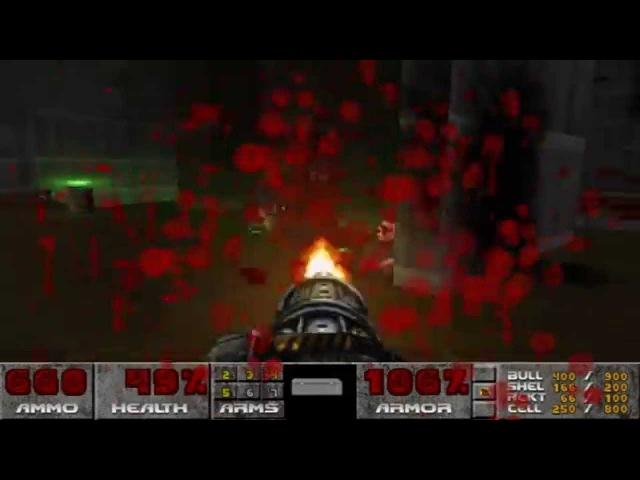 Brutal Doom 2 - Номах бензопилить!