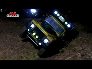 Night Trail 8 scale trucks offroad RC trail adventures at Woodgrove Ave
