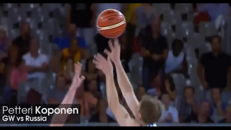 Победный бросок Петтери Копонена в матче с Россией