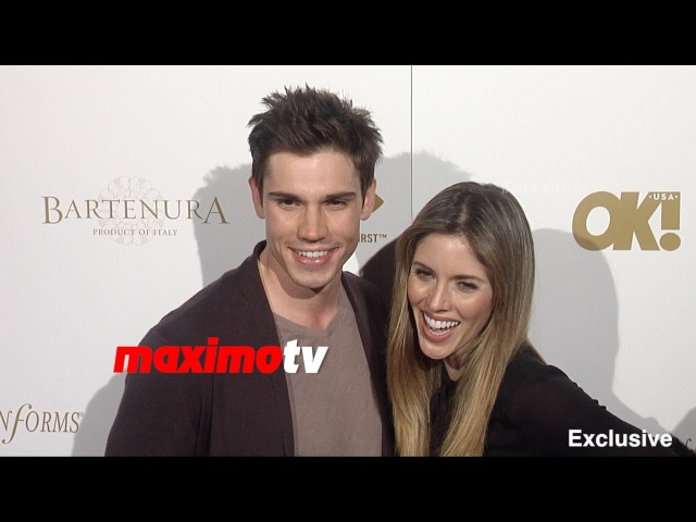 Kayla Ewell Tanner Novlan | OK! Pre Grammy Party 2015 | Red Carpet