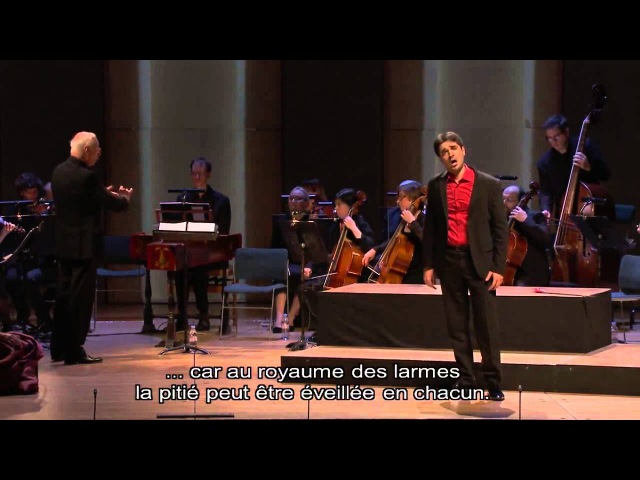 Händel Orlando Ah! stigie larve Mad Scene Carlo Vistoli William Christie
