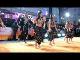 Karan Pangali dance at Second Best Exotic Marigold Hotel World Premiere