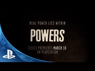 Powers: A PlayStation Original Series | Official Trailer