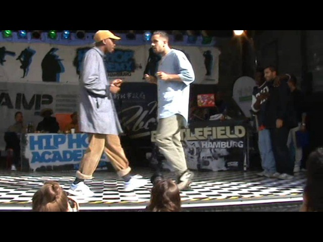 Battlefield 2015 Hip Hop Quaterfinale Jimmy Jocker Yudat vs Amun Ataji