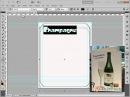 Создание этикетки в Photoshop 2/17