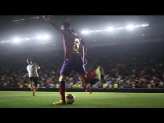 Реклама Найк с известными футболистами