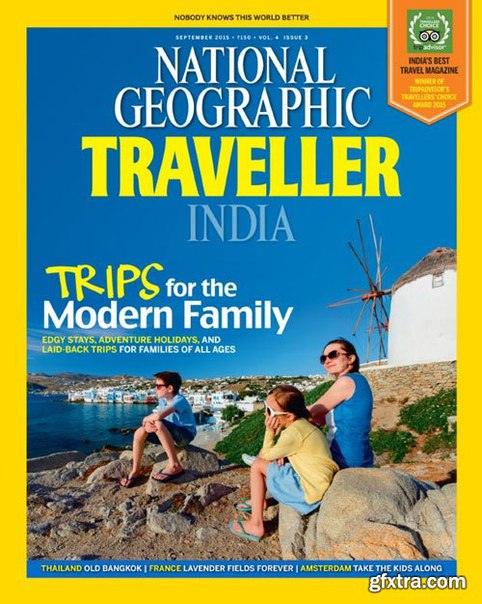 National Geographic Traveller India - September 2015