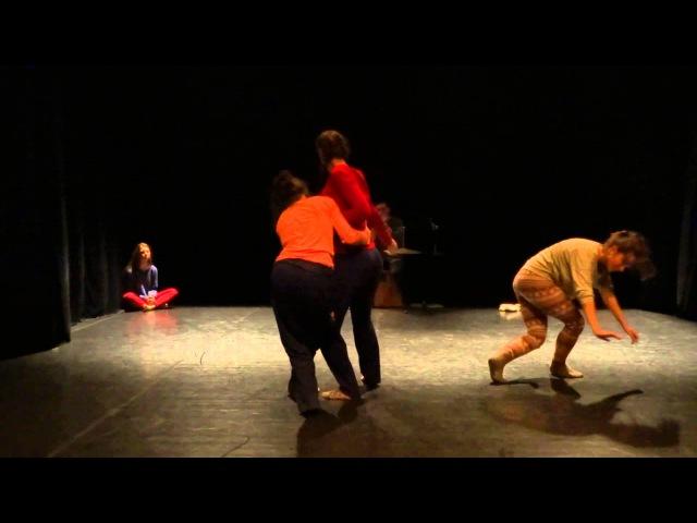 Svetlana Korkina Marina Baranova group score dance improvisation PushOK fest in Kiev