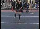 Crazy japanese girl dancing to speedcore