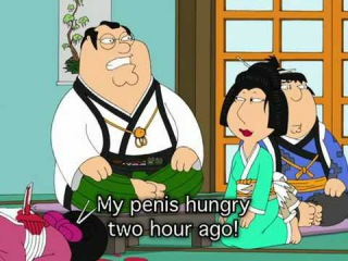 Family Guy Japanese Universe