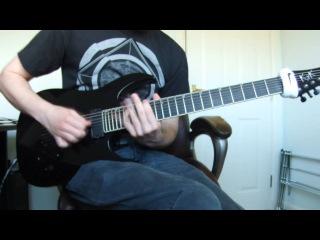 Bleeding Skies - Aigis [Guitar Play through] NEW SONG 2013
