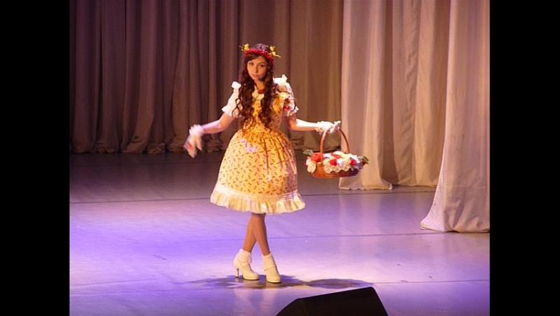 Аматэрасу 2016 Street fashion Country Lolita Daryia cupcake
