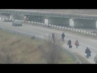 СБУ опубликовала видео задержания дезертиров на админгранице с Крымом