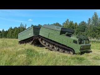 Снегоболотоход-амфибия Витязь ДТ-30П.