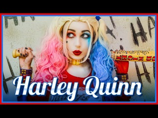Comic Con Suicide Squad Trailer Harley Quinn Margot Robbie Cosplay Victoria Lyn Beauty