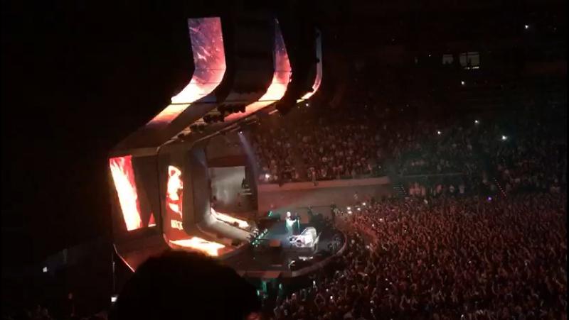 Ed Sheeran Eraser 09 04 2017 Palau Sant Jordi