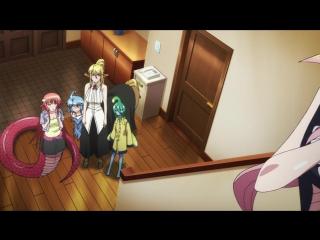 Повседневная жизнь с девушками монстрами ТВ-1 5 из 12 AniDub 1 сезон 5 серия
