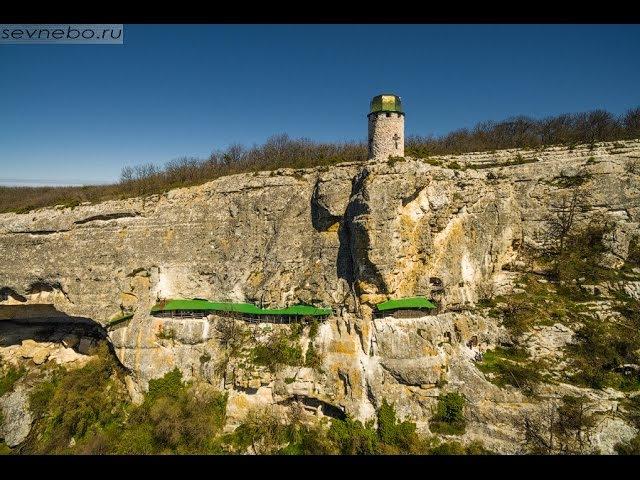 Крым Монастырь Шулдан Туристическая стоянка Пятая балка Пещерный монастырь Челтер Мармара