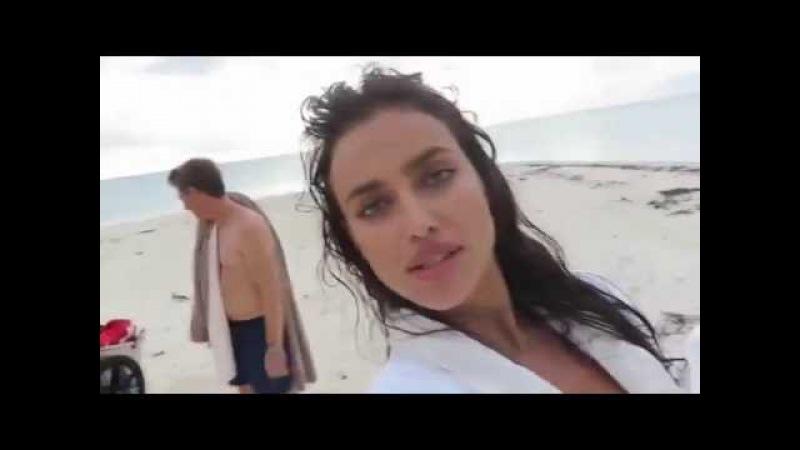 Irina Shayk Seksi Bikinili Tahiti 2016