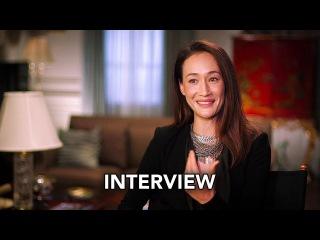 "Designated Survivor (ABC) ""Maggie Q"" Interview HD"
