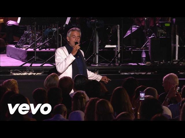 Andrea Bocelli La Vie En Rose Live 2012 ft Edith Piaf