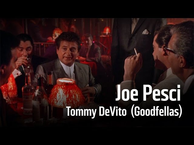 Goodfellas Joe Pesci Tommy DeVito RUS Dub