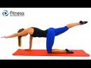 Смесь йоги и пилатеса против стресса - Расслабляющая растяжка для гибкости. Stress Busting Yoga Pilates Workout - Relaxing Stretch Workout for Flexibility