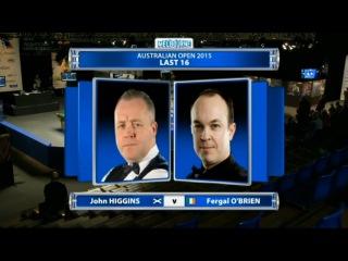 John Higgins v Fergal O'Brien 2015 Australian Goldfields Open