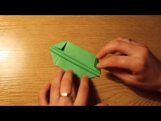 Удобная коробочка из бумаги.Easy Paper Box