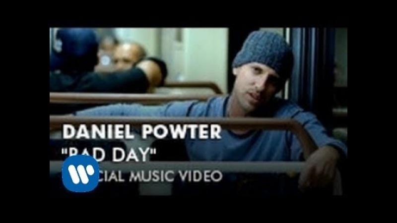 Daniel Powter Bad Day Official Music Video