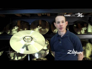 "Zildjian Sound Lab - 19"" K Custom Trash Smash"