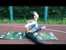 Как сесть на шпагат. Урок 4 от Мастера спорта по художественной гимнастике, Алёны Виноградовой