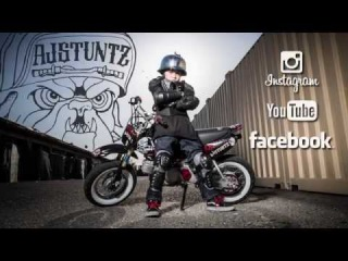 AJ Stuntz -The Kid That Wheelies & Stunts From The Bay
