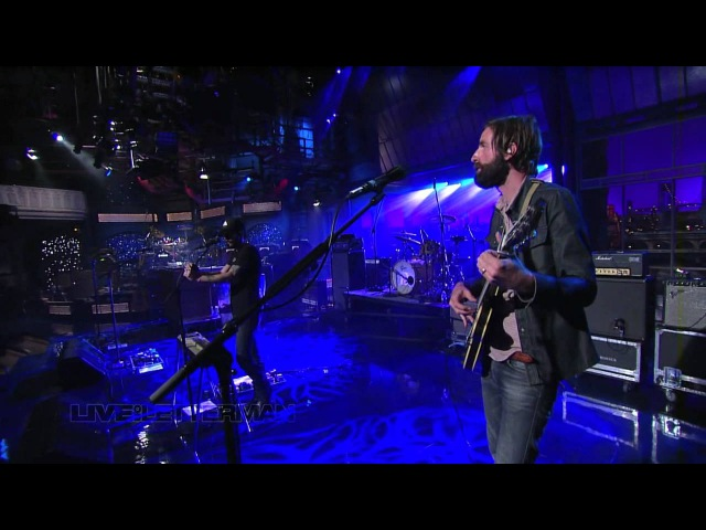 Band of Horses No One's Gonna Love You Live On Letterman