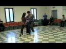 Tango Lesson: Sacada y Barrida - Intermediate Level @ Siena by Claudio Forte y Barbara Carpino