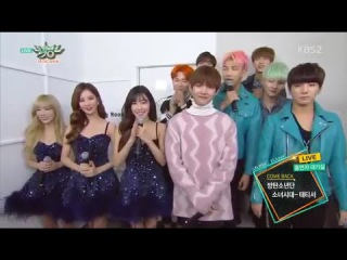 151204 Girls' Generation TTS (소녀시대 태티서) & BTS (방탄소년단) Comeback Interview @ Music Bank (뮤직뱅크)